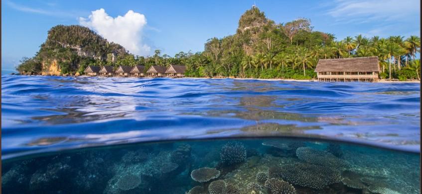Raja4divers pulau pef raja ampat dive resort - Raja ampat dive resort ...